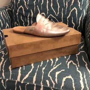 Born leather mule penny loafer size 8